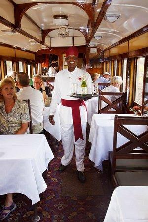 On Board The Victoria Falls Steam Train