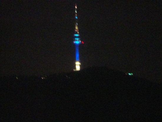 The Shilla Seoul : The Seul Tower.