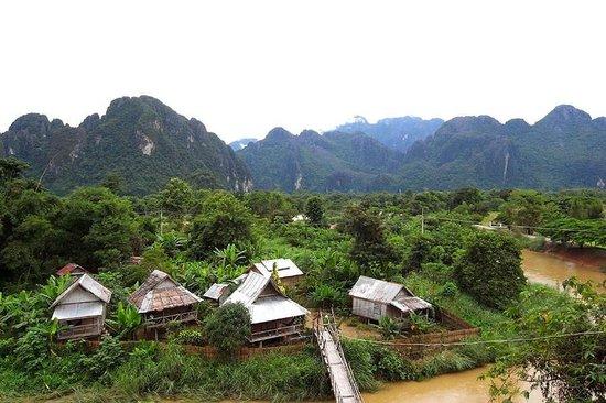 Champa Lao: river view