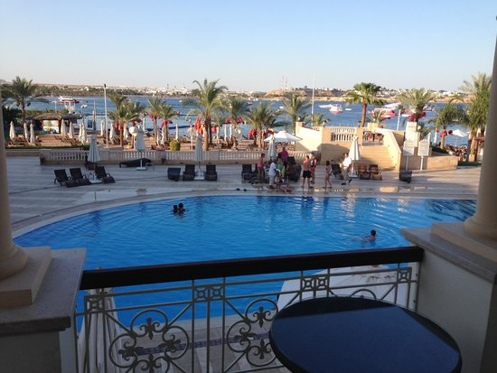 Helnan Marina Sharm: View from our room on the 1st day