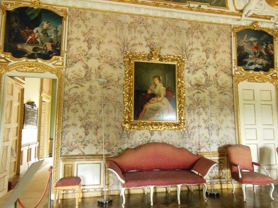 Villa della Regina : Appartamento del Re camera da letto verso Ponente