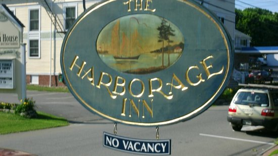 Harborage Inn on the Oceanfront: Sign