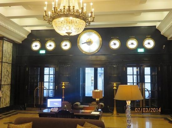Esplanade Zagreb Hotel: Luxurious Lobby