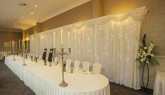 Killarney Oaks Hotel: Wedding Room Top Table