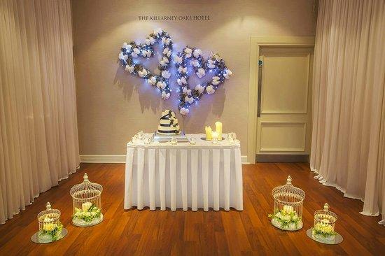 Killarney Oaks Hotel: Wedding Room