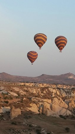 Ballooning Cappadocia: Hot Air Balloon