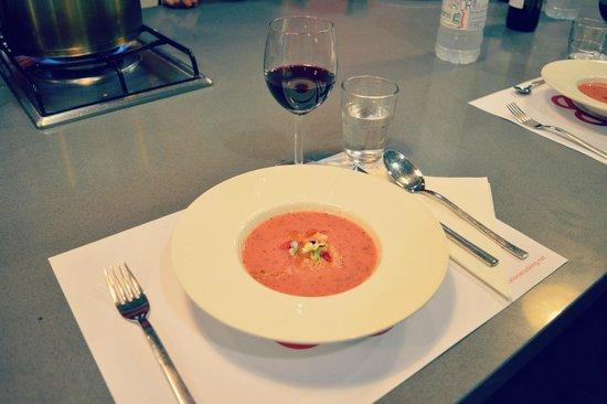 Barcelona Cooking Classes: Gazpacho