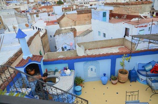 Riad Baraka: rooftop terrace