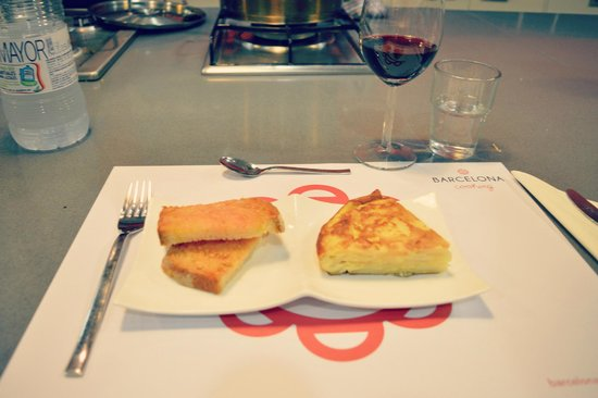 Barcelona Cooking Classes: Spanish Omlette