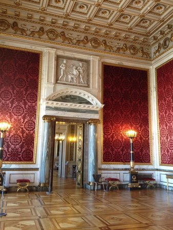 Schloss Christiansborg (Christiansborg Slot): The Velvet Room.