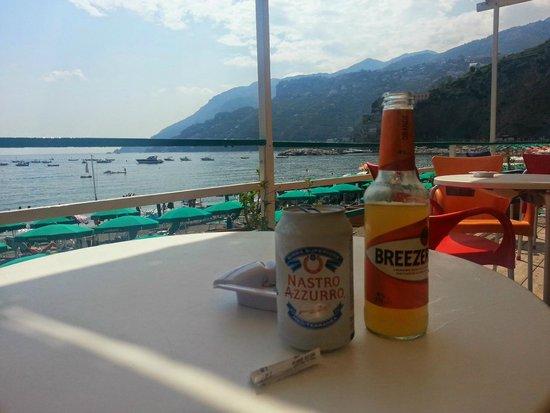 Hotel Panorama: Drink at the beech bar