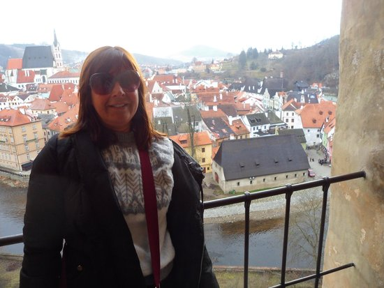 Historic Center of Cesky Krumlov : Desde el Castillo