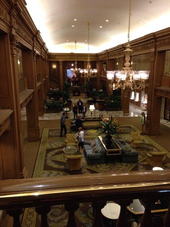 The Fairmont Olympic Seattle: Main lobby
