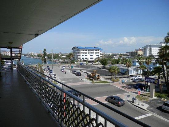 Beachwalk Inn: View from room