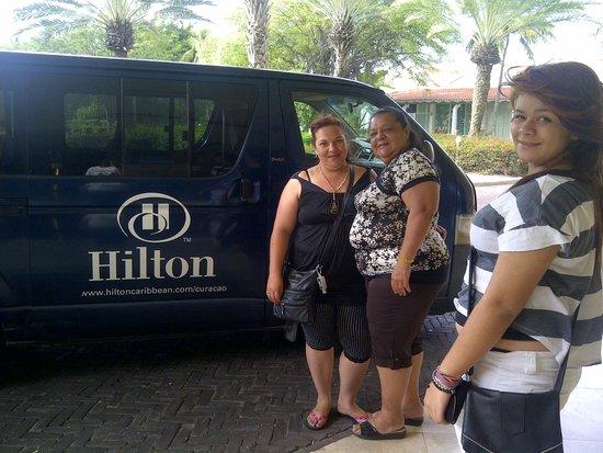 Hilton Curacao: Transporte hacia Punda