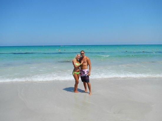 El Mouradi Mahdia : Beautiful Mediterranean Beach, in front of the hotel!