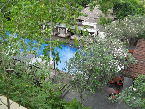 Conrad Bali : Our View from the 4th floor