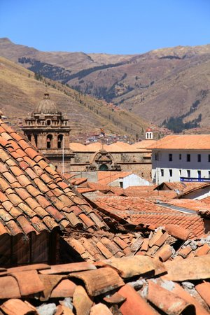 Tierra Viva Cusco Plaza: View from 401