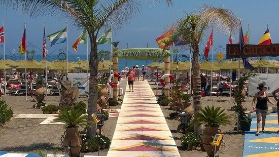Las Arenas Hotel : Carihuela Beach