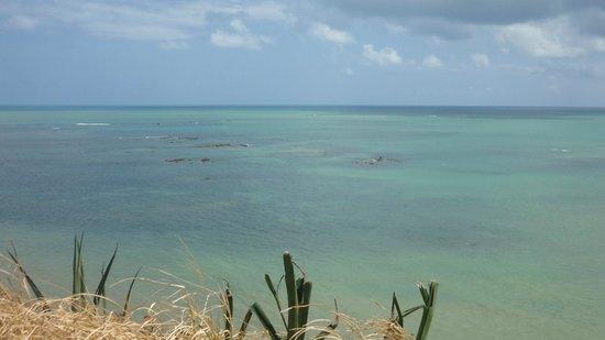 Farol Do Cabo Branco: Vista do mar do mar em frente ao farol