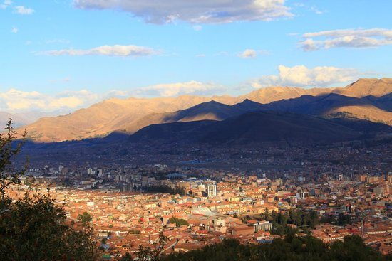 Tierra Viva Cusco Plaza: view over qosqo