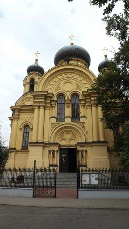 Praga Północ: Russian Orthodox Church - wonderful interior