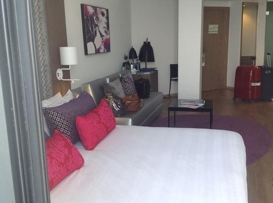Hard Rock Hotel Ibiza: the room
