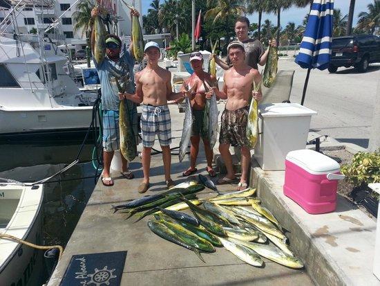 Lady Pamela II Sportfishing : great day