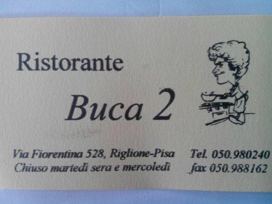 LA BUCA 2: (la) buca 2
