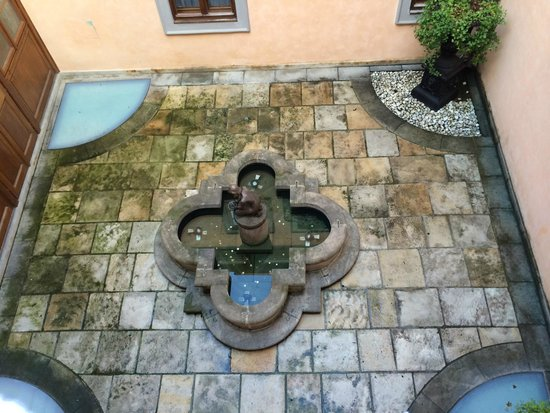 Alchymist Grand Hotel & Spa: View from balcony