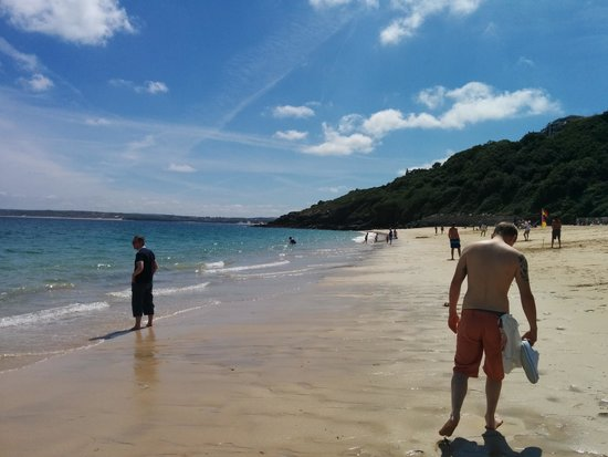 St. Ives Harbour Hotel & Spa: porthminster beach just outside