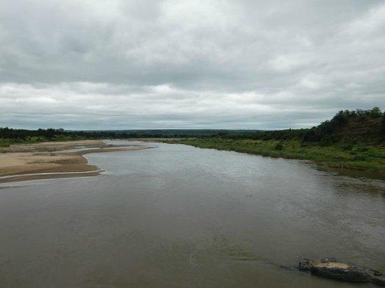 Letaba Rest Camp: De rivier De Letaba (maart 2014)