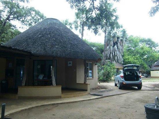 "Letaba Rest Camp: ""Ons"" huisje nr. E74  (maart 2014)"