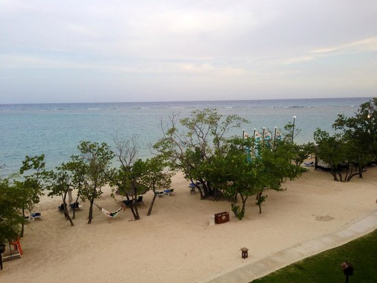 Sandals South Coast: View from our Italian Village room on 4th floor