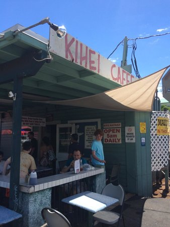 "Kihei Caffe: This place should be on ""Diners, Drive-Ins, and Dives"" if it hasn't already!"