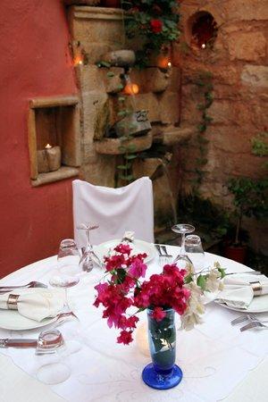Veneto Restaurant: gedekte tafel