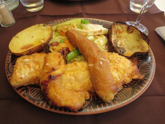 O Jango : Black Scabbard Fish with Banana