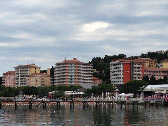 Hotel Mirna - LifeClass Hotels & Spa: Il complesso degli hotel della catena Life Class a Portoroz