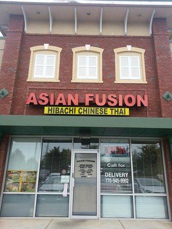 Asian fusion suwanee ga