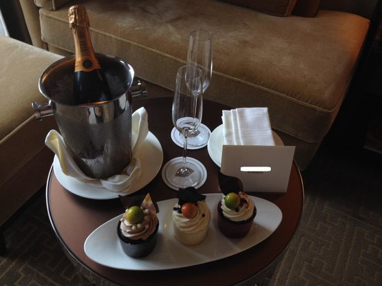 Mandarin Oriental, Las Vegas: Birthday surprise