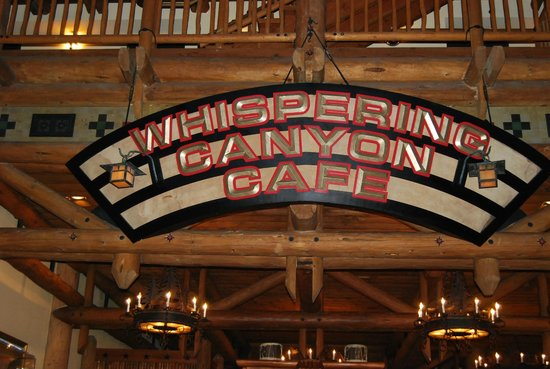 Disney's Wilderness Lodge: Whispering Canyon Cafe- ask for ketchup!