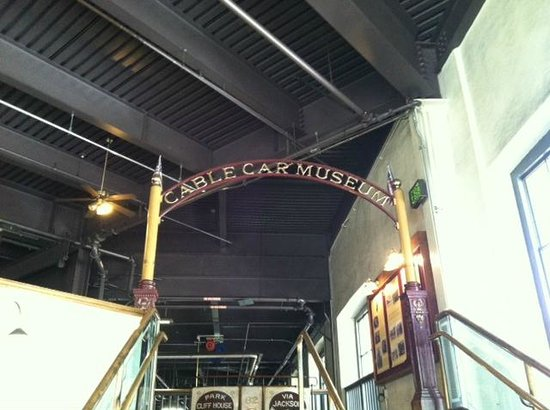 Cable Car Museum: Entrance to museum