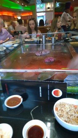 Sapporo Teppanyaki - Glasgow: Fillet steak - excellent