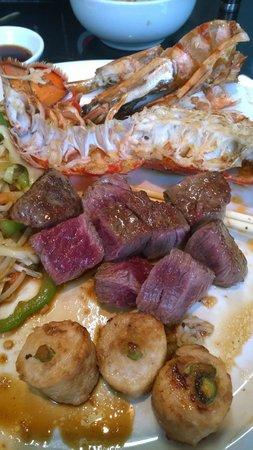Sapporo Teppanyaki - Glasgow: Fillet steak - double yum