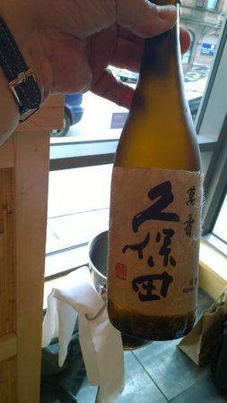 Sapporo Teppanyaki - Glasgow: Sake