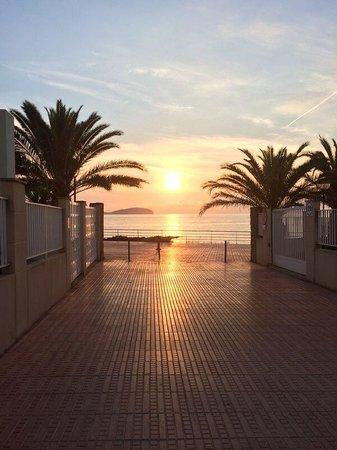 Intertur Hotel Miami Ibiza : Lever du soleil