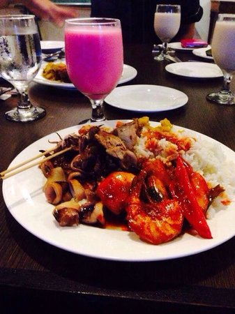 Resorts World Langkawi: Great dinner at Resort World Langkawi