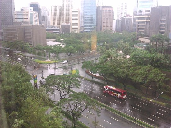 Makati Shangri-La Manila: view from our room