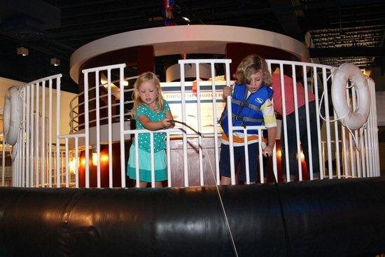 Children's Museum of Virginia: Fishing!