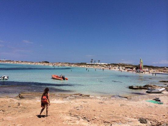 Intertur Hotel Miami Ibiza : Magnifique plage de Formentera